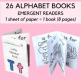 My Little Alphabet Books - Emergent Alphabet Readers