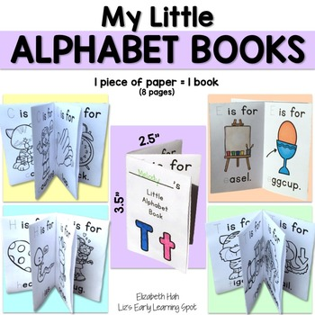 My Little Alphabet Books - Emergent Alphabet Readers
