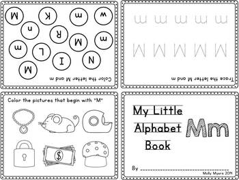 My Little Alphabet Books - Little Books for Letter and Phonics Learning!