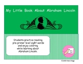 My Little Book About Abraham Lincoln