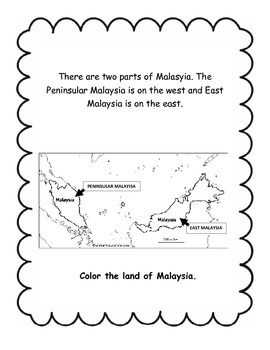 My Little Book About Malaysia