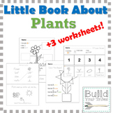 My Little Book About Plants and Worksheets