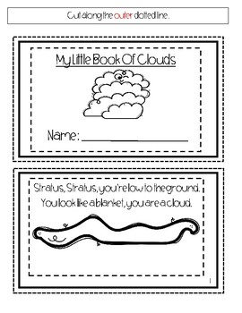 My Little Book Of Clouds