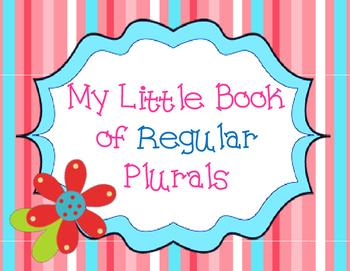 My Little Book Of Regular Plurals: Student Book