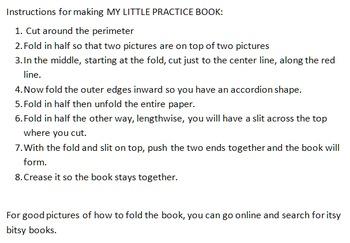 My Little /ʃ/  Book Pre-K-1