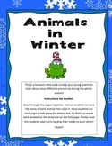My Little Book of Animals in Winter