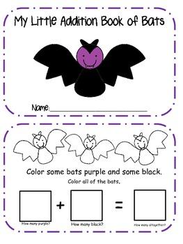My Little Book of Bat Addition