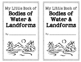 My Little Book of Bodies of Water and Landforms