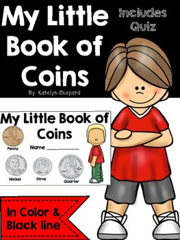 My Little Book of Coins {A coin value student booklet}