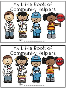 My Little Book of Community Helpers {Easy Reader}