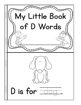 My Little Book of D Words