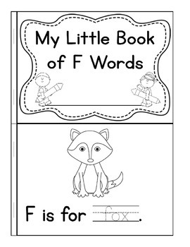 My Little Book of F Words