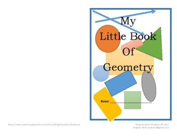 My Little Book of Geometry
