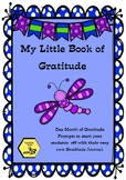 My Little Book of Gratitude / Thankfulness - Teaching our