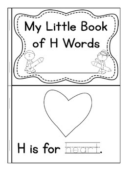 My Little Book of H Words