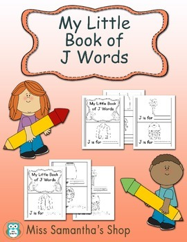 My Little Book of J Words