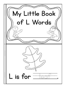 My Little Book of L Words
