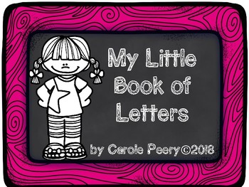 My Little Book of Letters