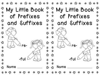 Universal image inside prefixes and suffixes printable games