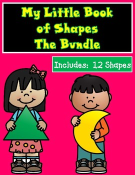 My Little Book of Shapes Bundled