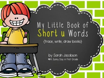 My Little Book of Short u Words! {freebie!}