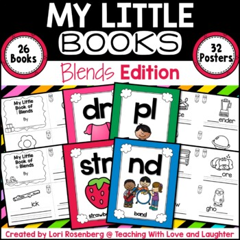 My Little Books {Blends Edition}