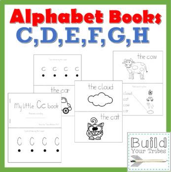 My Little Books C,D,E,F,G,H