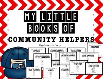 My Little Books: Community Helpers