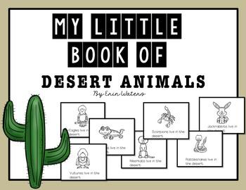 My Little Books: Desert Animals