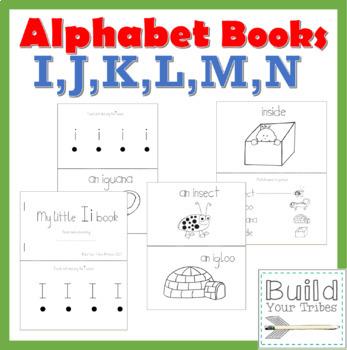 My Little Books I,J,K,L,M,N