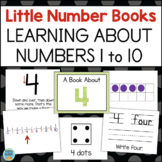 Numbers 1 to 10 Little Books - Ways to Represent Numbers, Number Models