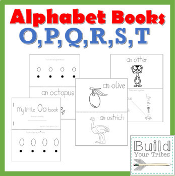 My Little Books O,P,Q,R,S,T