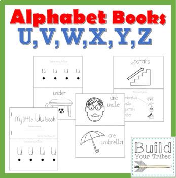 My Little Books U,V,W,X,Y,Z