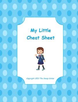 My Little Cheat Sheet