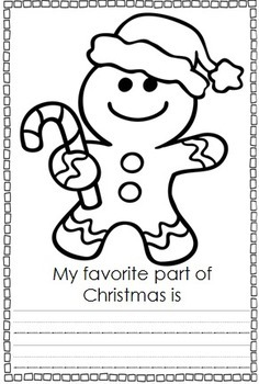 My Little Christmas Coloring Book