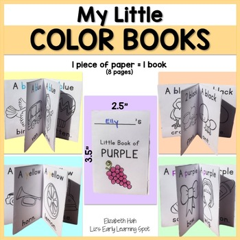 My Little Color Books: Emergent Color Readers