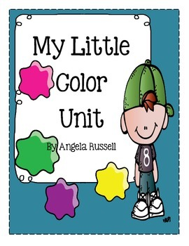 My Little Color Unit ~ 10 Color Recognition Activities