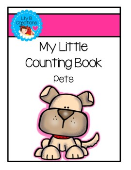 My Little Counting Book ~ Pets