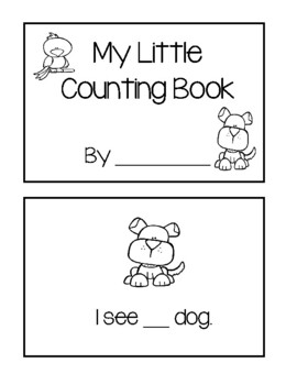 My Little Counting Book - Pets