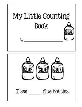 Counting Book ~ Back To School