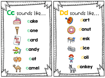My Little Dictionary-Letter Sounds