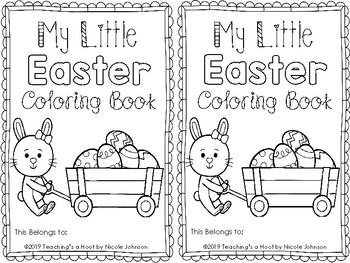 My Little Easter Coloring Book by Teaching\'s a Hoot by ...