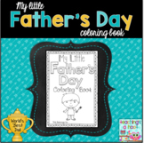 My Little Father's Day Coloring Book