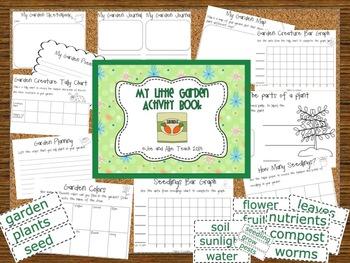 My Little Garden Activity Book