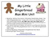 My Little Gingerbread Man Mini Unit by greenbeankindergarten