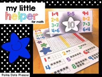 My Little Helper Desk Chart for Math