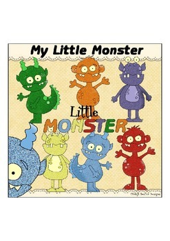 My Little Monster Clipart Collection