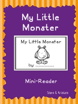 My Little Monster Mini-Reader