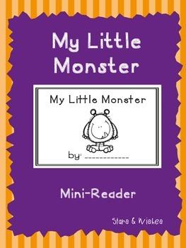 My Little Monster Mini-Reader