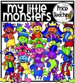 My Little Monsters (The Price of Teaching Clipart Set)